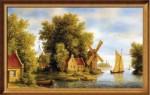 Творческая бизнес-идея: репродукция картин известных художников на холсте
