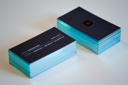 Домашний бизнес по производству визиток