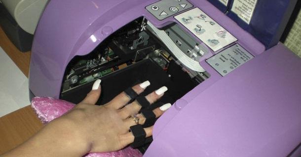 Новая бизнес идея — принтер для печати изображений на ногтях