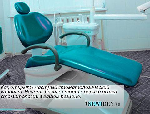 Как открыть частный стоматологический кабинет — хороший способ начать свой бизнес