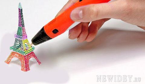 3D ручка, новая бизнес идея, технологии