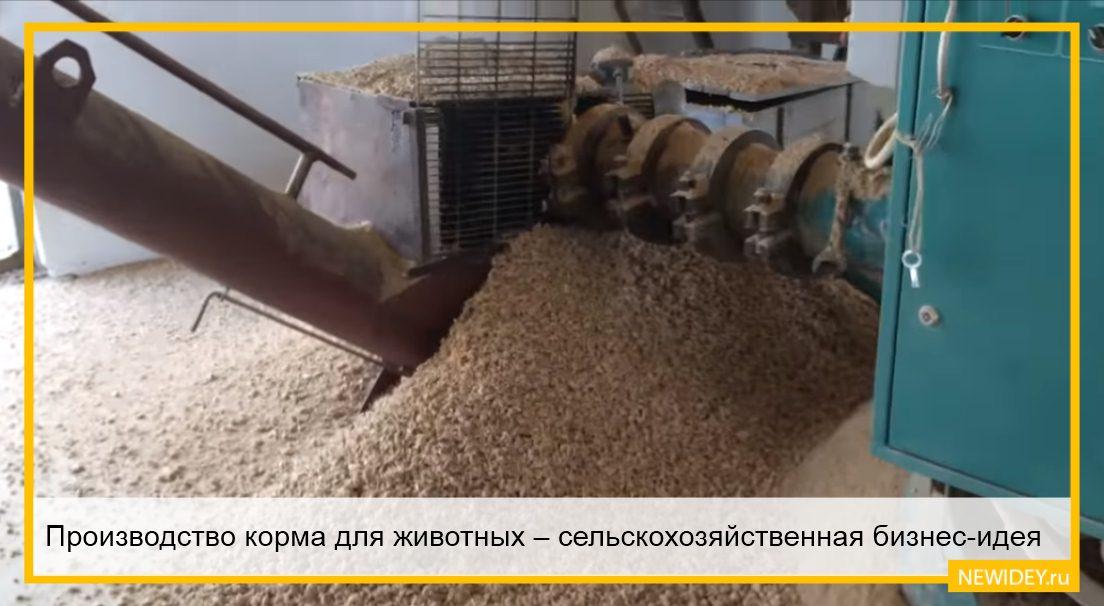 корма в сельском хозяйстве