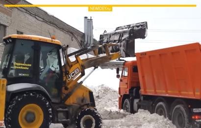 Уборка и вывоз снега – бизнес-идея на зиму