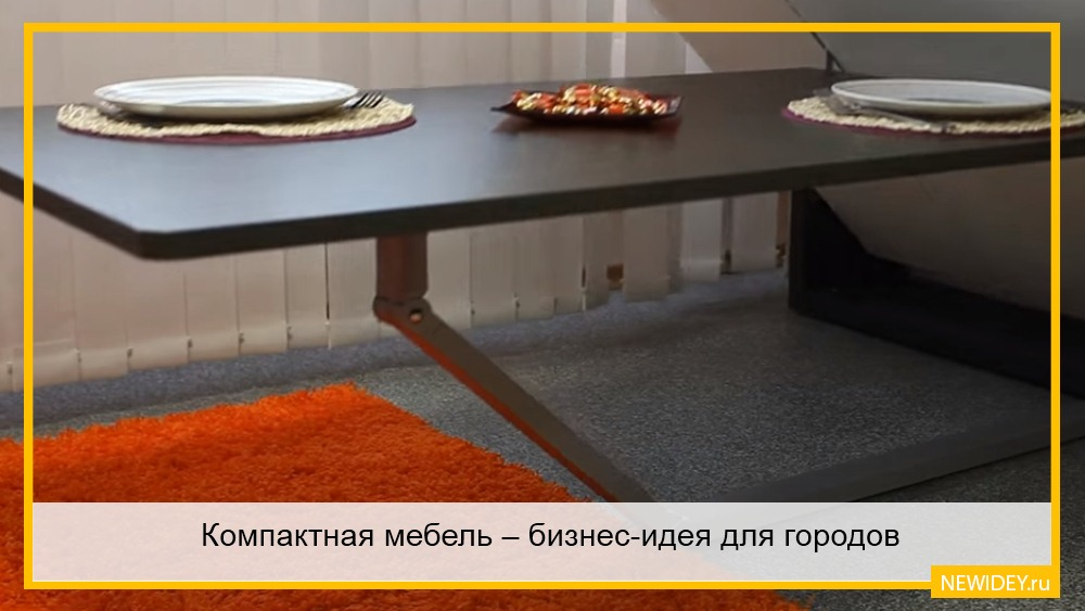 компактная мебель для комнат