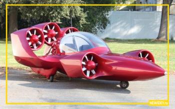 летающий автомобиль Moller Skycar М400